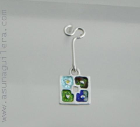 Asun Aguilera - THE 4 SEASONS- Earrings-Dangle   65 € - emociones hechas joyas,joyería de Autor,Asun Aguilera
