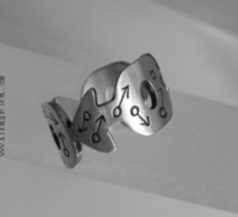 Asun Aguilera - MARS Ring, ,Male Symbol   80 € - emociones hechas joyas,joyería de Autor,Asun Aguilera