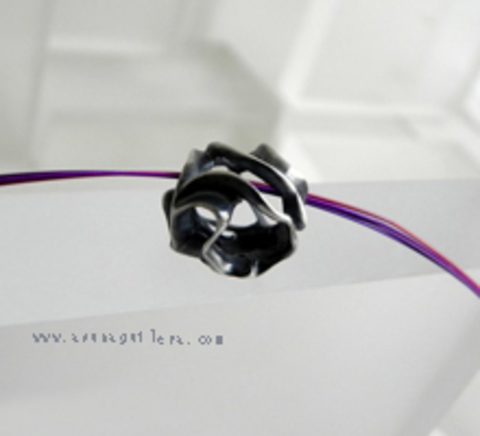 Asun Aguilera - Colgante ESFERA TALLADA - Hueca   62 € - emociones hechas joyas,joyería de Autor,Asun Aguilera