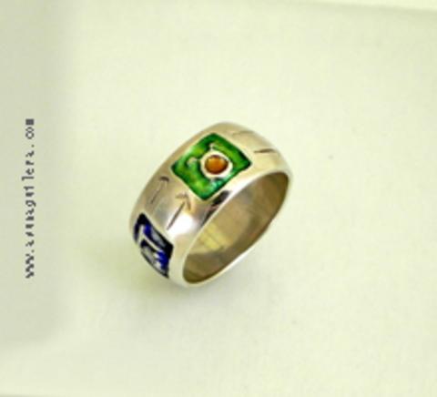 Asun Aguilera - THE 4 SEASONS Ring-Round   65 € - emociones hechas joyas,joyería de Autor,Asun Aguilera