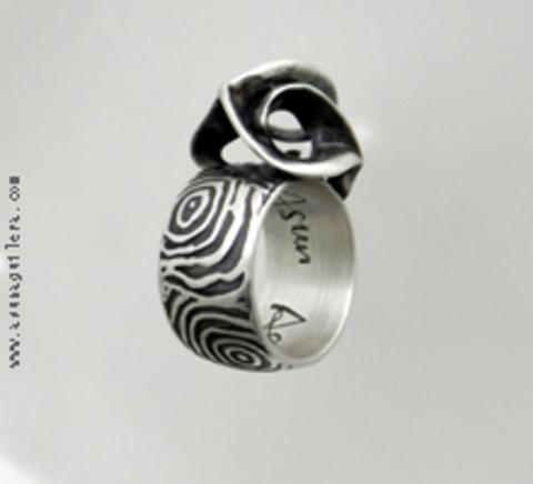 Asun Aguilera - CARVED SPHERE Ring-Round   86 € - emociones hechas joyas,joyería de Autor,Asun Aguilera