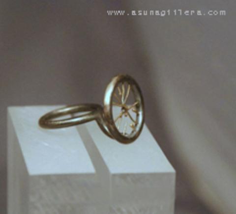 Asun Aguilera - TWINS Ring I,   352 € - emociones hechas joyas,joyería de Autor,Asun Aguilera