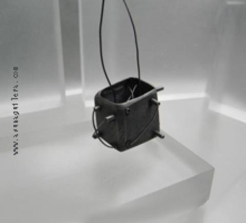 Asun Aguilera - STRUCTURES Pendant-Industrial   150 € - emociones hechas joyas,joyería de Autor,Asun Aguilera